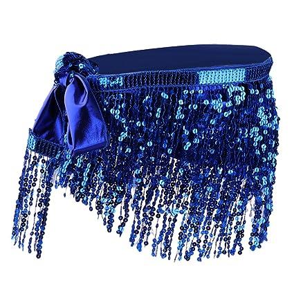 Moda Danza de Vientre Cintura Cadena Cadera Falda Bufanda con ...