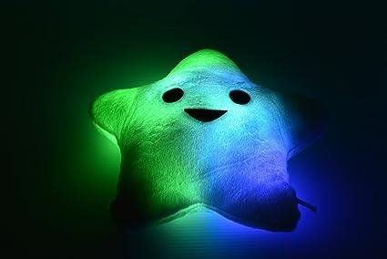 Amazon.com: LED Light Up Star Pillow- Cashmere & Mezcla De ...