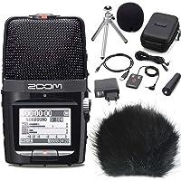 Zoom H2n Handy Recorder H2 Next + APH-2 Zubehör Set + KEEPDRUM WSBK Fell-Windschutz