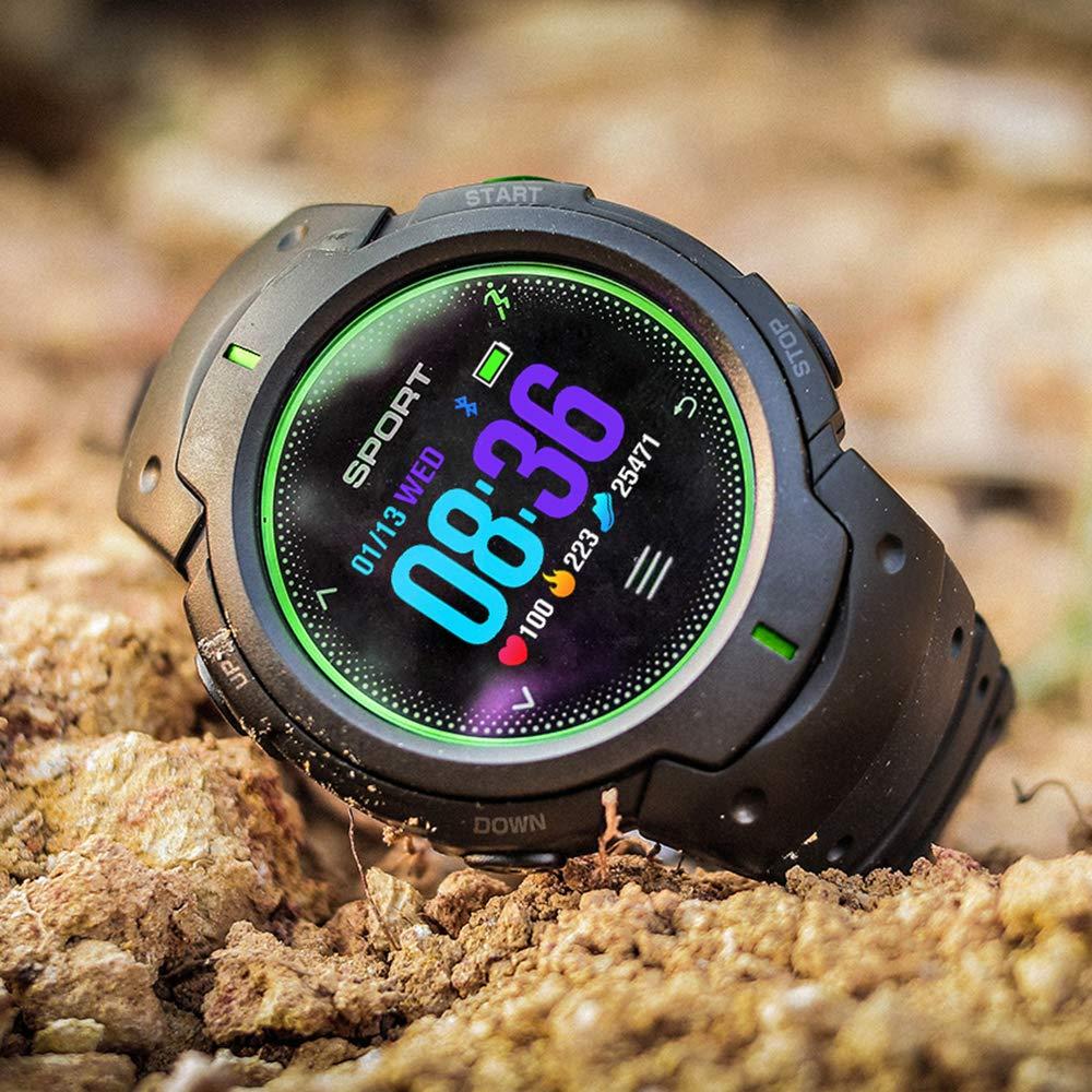 UKNANY F13 Reloj Inteligente Bluetooth IP68 Impermeable con Modo ...