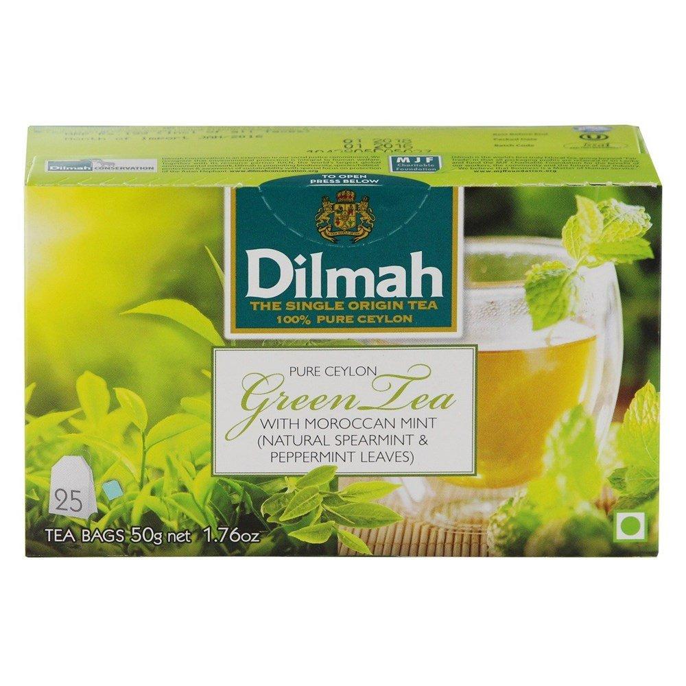 Dilmah pure ceylon green tea with moroccan mint 25 tea bags amazon dilmah pure ceylon green tea with moroccan mint 25 tea bags amazon grocery gourmet foods izmirmasajfo