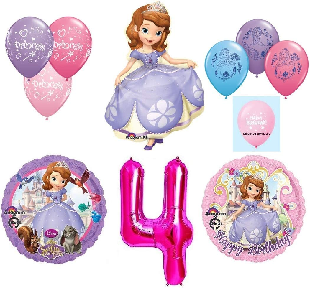 Amazon.com: DalvayDelights Disneys Sofia The First 4º Feliz ...