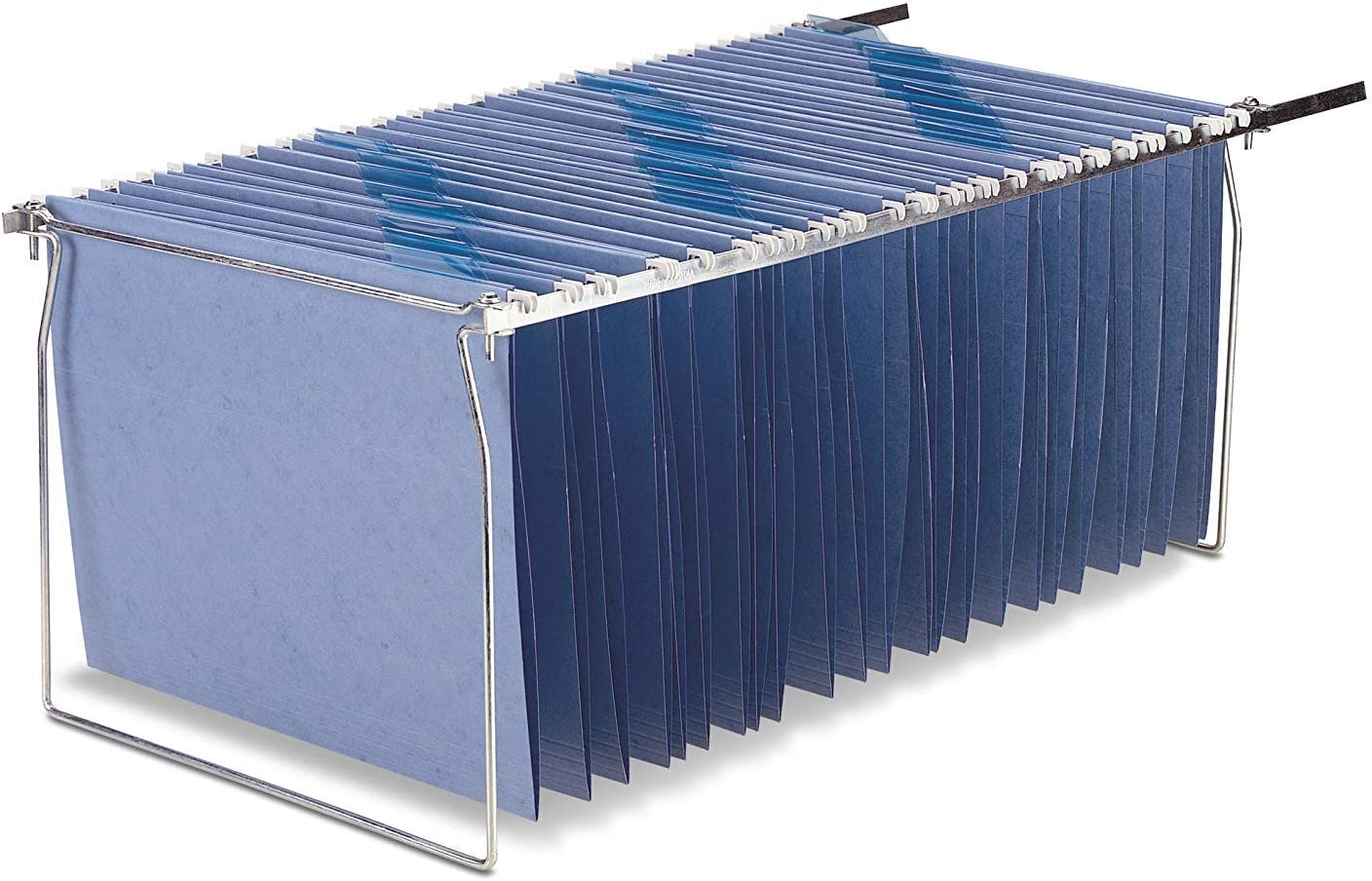 Officemate Hanging File Frame, Letter Size, Adjustable 14 to 18-inches, 6 Pack (91990)