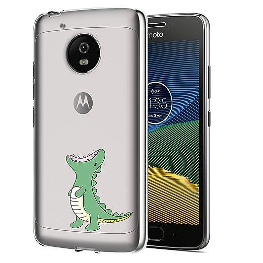 3 opinioni per Moto G5 Plus Custodia, ocketcase® Morbido Flessibile TPU Gel Silicone Cover Case