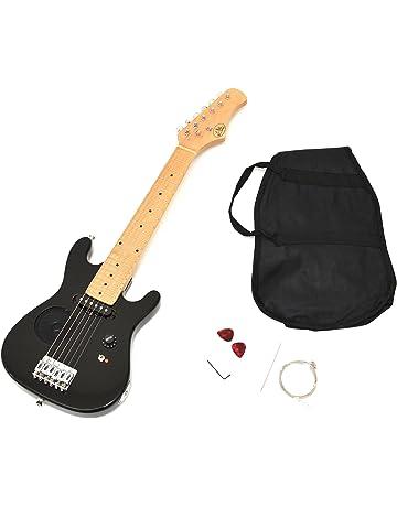 Guitarra para Niños niños guitarra guitarra eléctrica en negro de cerca de 4-8 Años