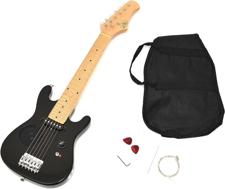 Guitarra para Niños niños guitarra guitarra eléctrica en negro de ...