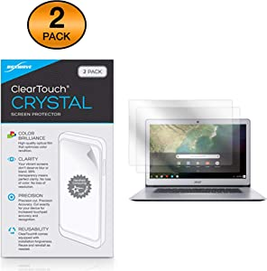 Acer Chromebook 15 (CB515) (15.6 in) Screen Protector, BoxWave [ClearTouch Crystal (2-Pack)] HD Film Skin - Shields from Scratches for Acer Chromebook 15 (CB515) (15.6 in)