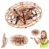 AMERTEER Mini Drone for Kids Adults, Flying Ball Hand Controlled Quadcopter Light Up Flying Toys, UFO Flying Ball Drone…