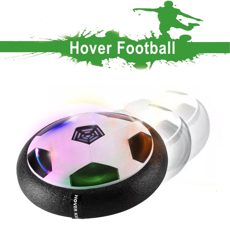toyk Kids Toys The Amazing Hover強力なLEDライト4ボーイズガールズスポーツサイズおもちゃトレーニングフットボール屋内または屋外の子と親でボールゲーム B0762N718J