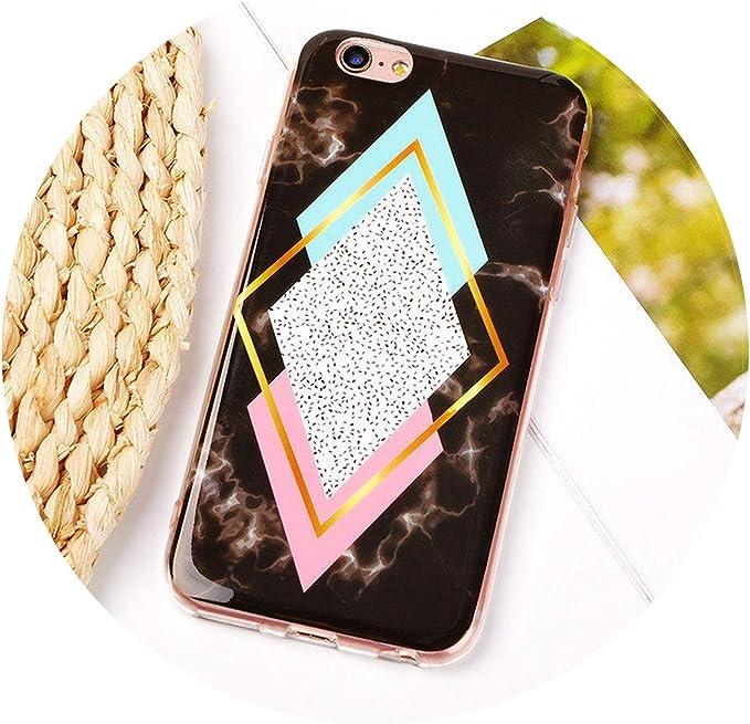 Diamond Geometric Coque pour iPhone 5/5S/SE/6/6S Plus 7/7 Plus ...