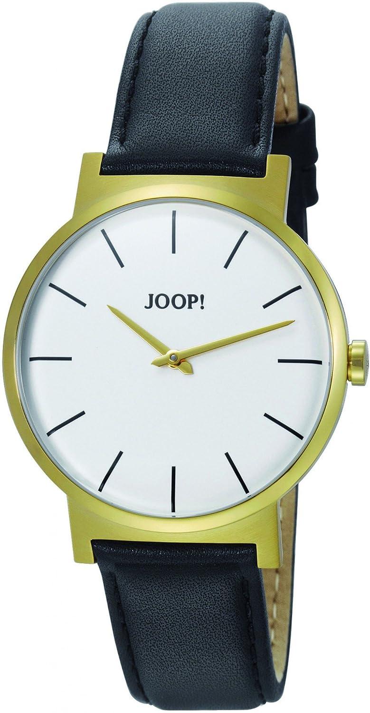 Joop! Herren-Armbanduhr Analog Quarz Leder JP100841F04U