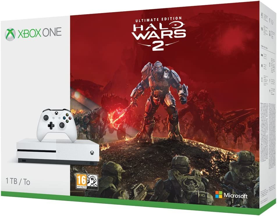 Microsoft Xbox One - Pack Consola S 1 TB Halo Wars 2: Amazon.es ...