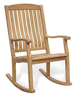 jati silla mecedora para jardn madera de teca
