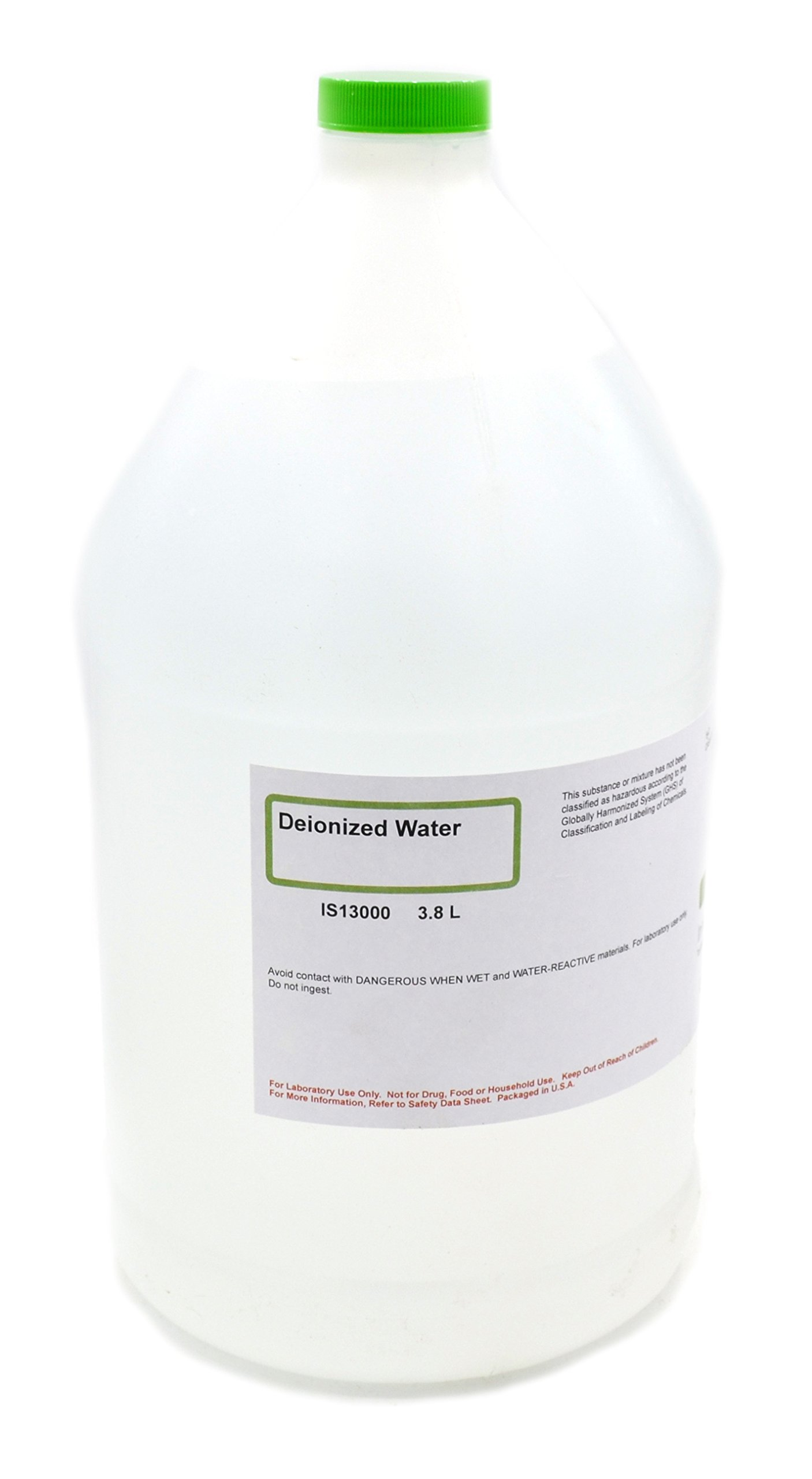 Deionized Water, 3.8L - The Curated Chemical Collection