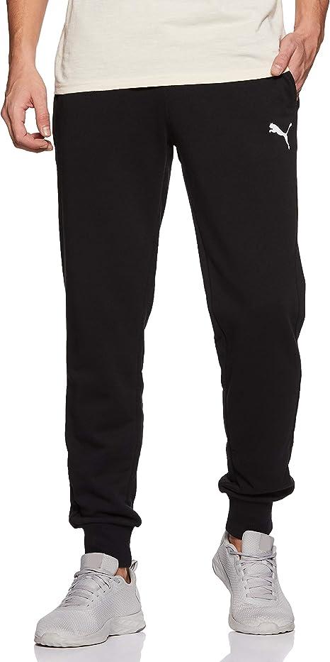 Puma Ess Logo Pants TR Cl, Pantaloni Uomo