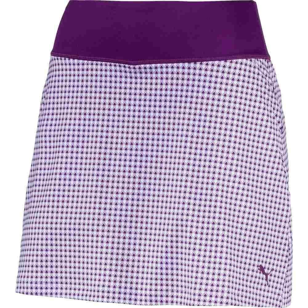 (プーマ) PUMA レディース ゴルフ ボトムスパンツ PUMA PWRSHAPE Dassler Knit Golf Skirt [並行輸入品] B07GJGF5ZQ XX-Small