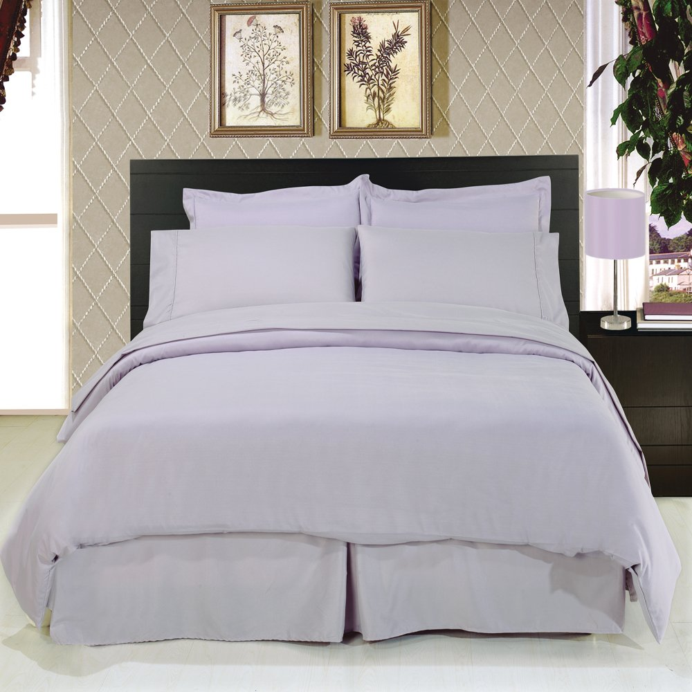 amazon com 8 piece bedding 1200 thread count down alternative