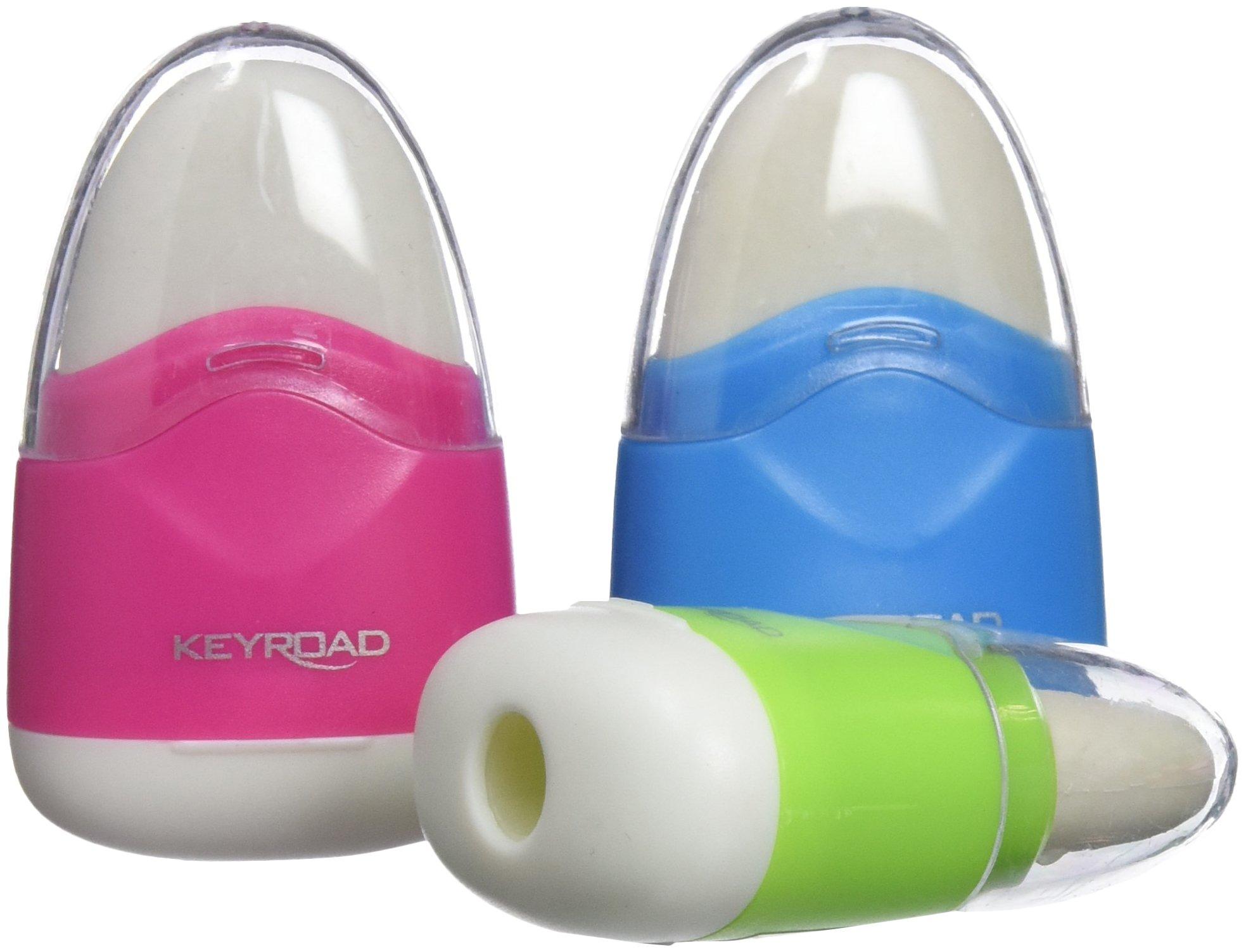 Keyroad kr971077–Pack of 36Erasers with Sharpener by Keyroad (Image #1)