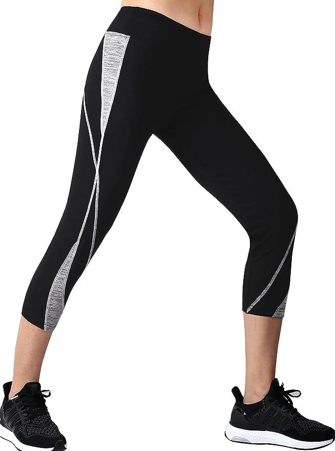 taglio tipo Capri leggins da donna ideali per la corsa Neonysweets