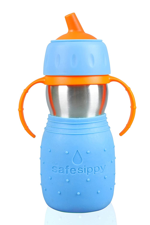 【初回限定お試し価格】 Kid Original Basix Safe Kid Sippy Cup, The Original Cup, Stainless Steel Sippy Cup, Blue, 11oz by Kid Basix B004HKIIFS, K-ART:08c44d35 --- a0267596.xsph.ru