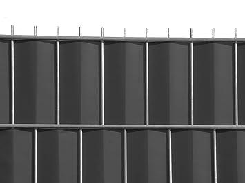 Zaun Nagel Sichtschutz Zum Doppelstabzaun Anthrazit Rolle A 70 M