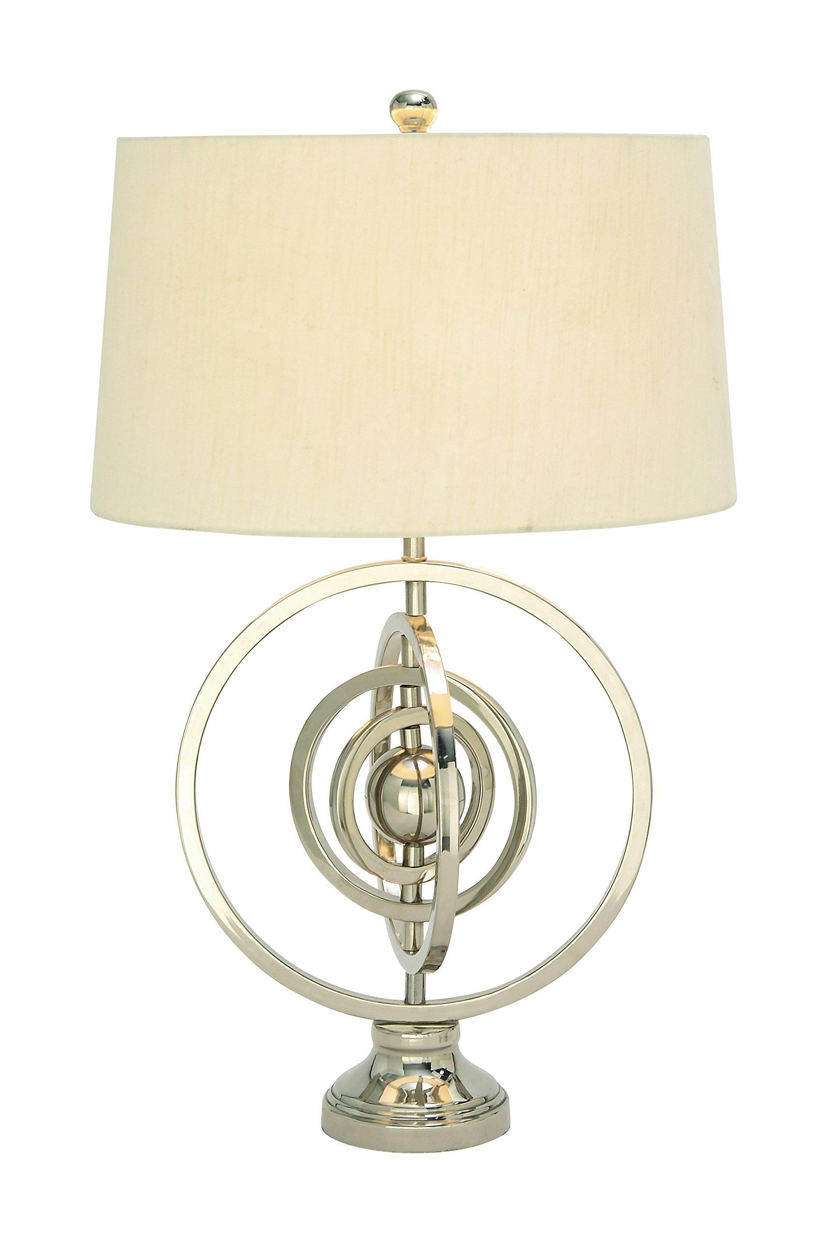 Deco 79 37162 Metal Table Lamp 28'' H