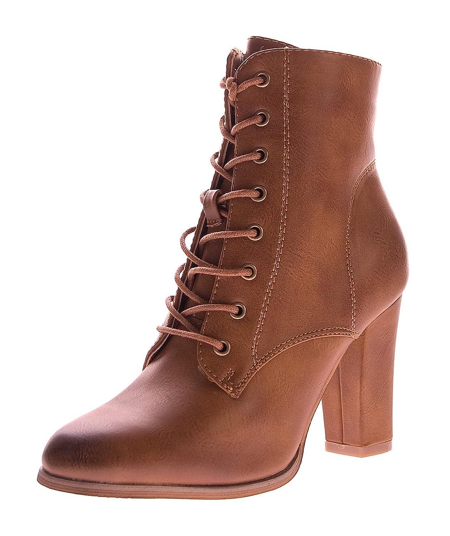 stahl-moden - botines de caño bajo Mujer marrón