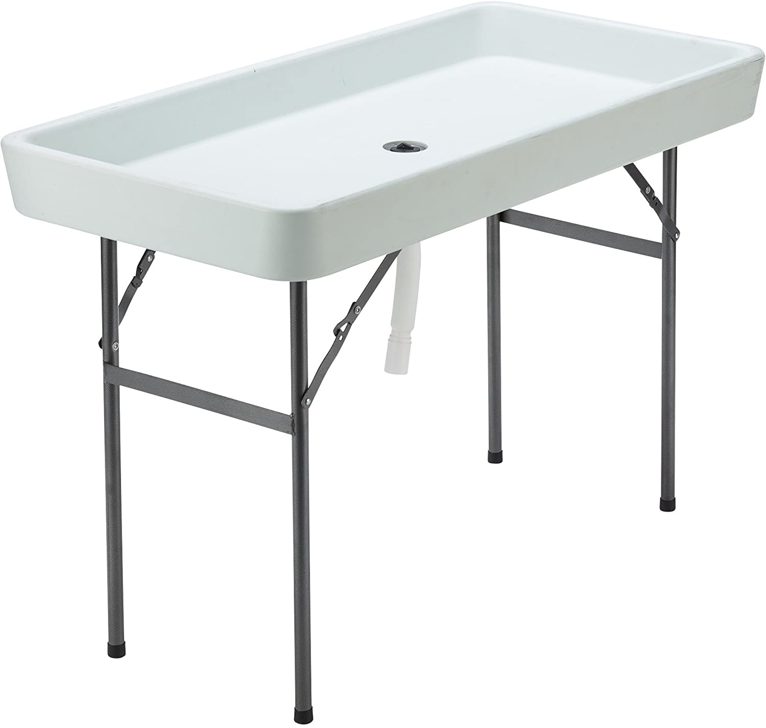 Ice Party Table Portable Tailgate Camping Table