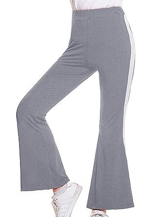 Pantalón Deportivo para Mujer Ancho Chic Pantalón Ropa ...