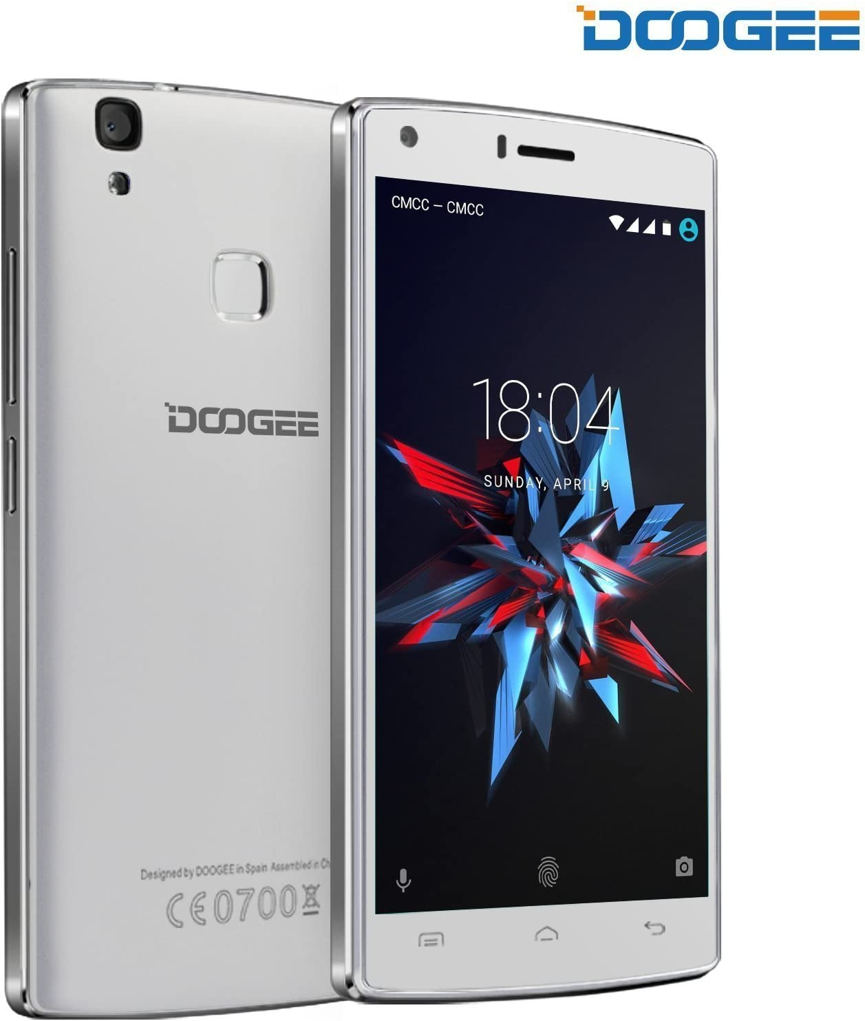 Doogee Mobile X5 Max Pro SIM doble 4G 16GB Color blanco: Amazon.es ...