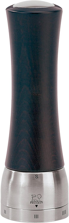 Edelstahl Peugeot Madras u Select Salzm/ühle Schokolade 6.1/x 6.1/x 16/cm