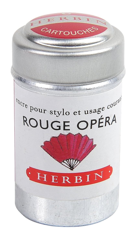 Herbin 20168T Inchiostro, Rosso Opera, 4.2 x 2.3 x 2.3 cm
