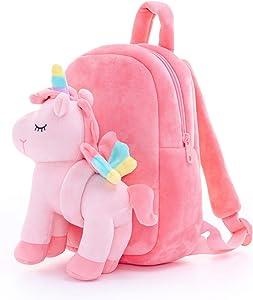 Lazada Kids backpack Unicorn Plush Girl Toys Pink 11 Inches Age 3+