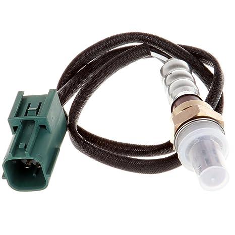 ECCPP Oxygen Sensor Fits 13675 4 Wires Replacement O2 Sensor Downstream on 02 sensor voltage, 02 sensor circuit, 06 mustang 02 sensors diagram, oxygen sensor diagram, 02 sensor 95 maxima located, 02 sensor connector, 02 sensor crx,