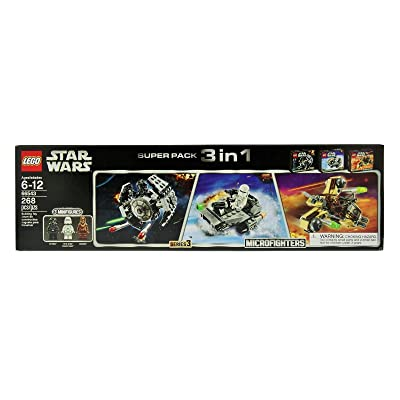 Lego Star Wars Microfighters Super Pack 3 in 1 Series 3 (66543): Toys & Games