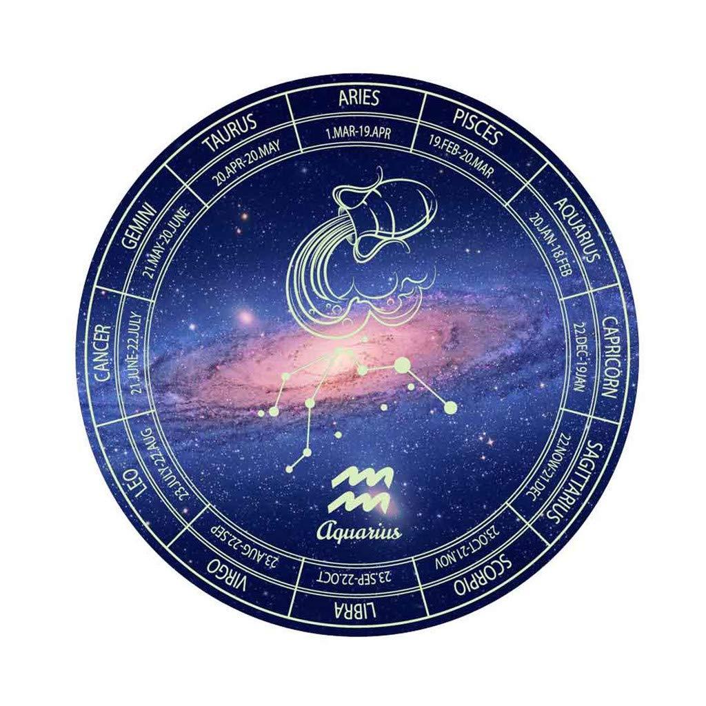 YWLINK Etiqueta De La Pared Doce Constelaciones Luminoso ...
