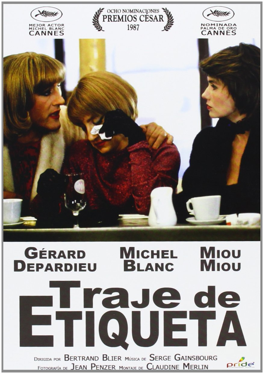 Amazon.com: Traje De Etiqueta (Tenue De Soirée) (1986 ...