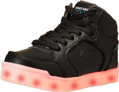Skechers Kids ENERGY LIGHTS light up blackwhite sneakers