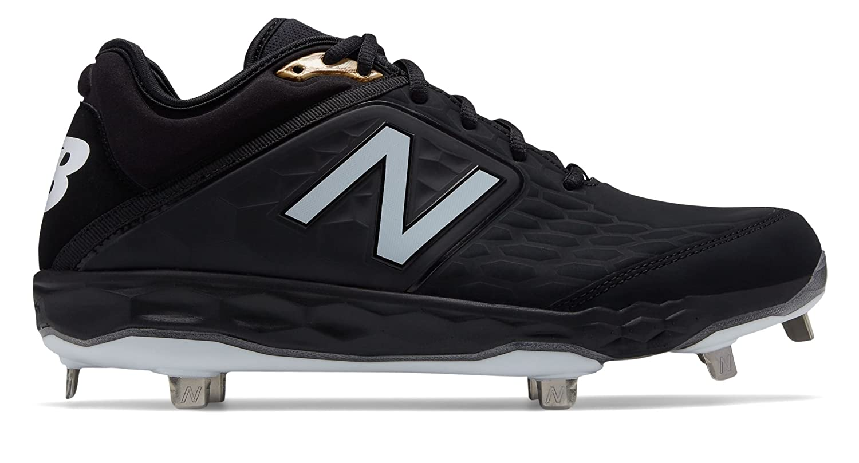 [New Balance(ニューバランス)] 靴シューズ メンズ野球 3000v4 Metal Black Graphite ブラック グラファイト US 5 (23cm) B07FRZ6LM1