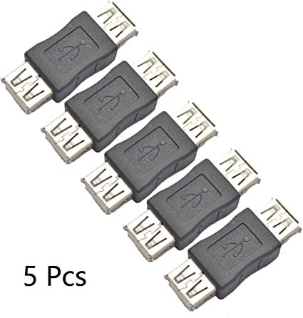 USB 2.0 Extender Type A Female to Female F//F Adapter Converter Coupler Connector