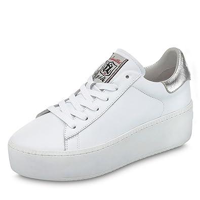 d18270ed891e15 ASH Cult Plateau Sneaker Weiß  Amazon.de  Schuhe   Handtaschen