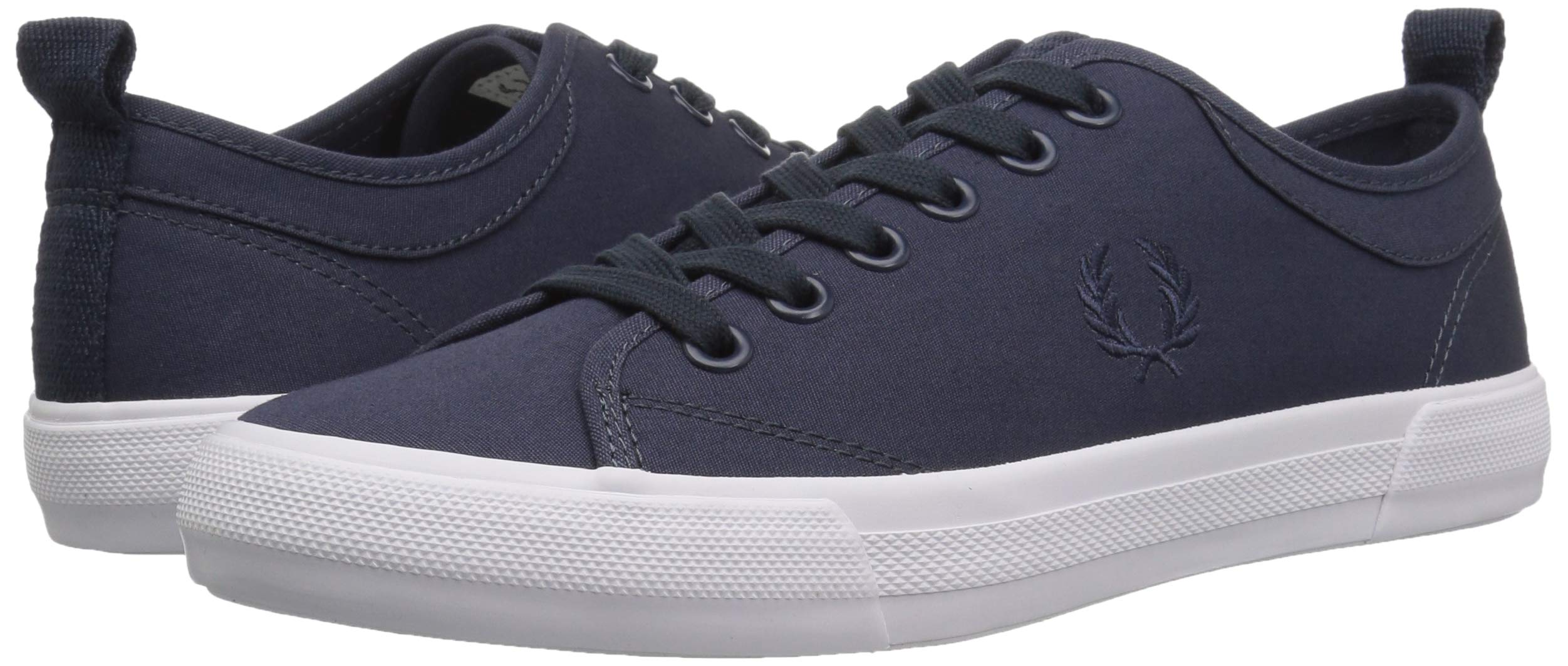 Fred Perry Men's Horton Shower Resist FINE CNV Sneaker, Dark air Force, 6 D UK (7 US) by Fred Perry (Image #5)