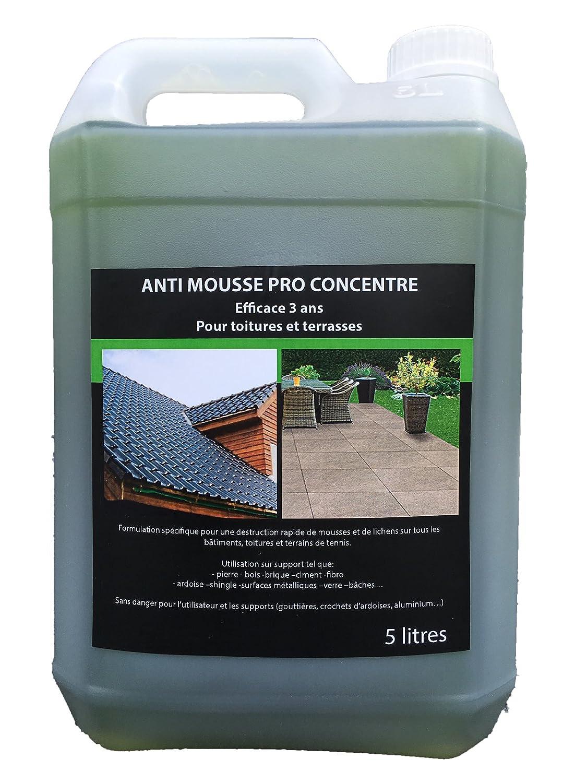 anti mousse pour toiture finest dmousser son toit comment nettoyer et entretenir une toiture. Black Bedroom Furniture Sets. Home Design Ideas