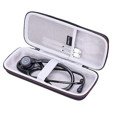 LTGEM Funda Rígida EVA para Estetoscopio de Vigilancia 3M Littmann Classic III 5803 Bolsa Protectora de Transporte de Viaje: Amazon.es: Industria, empresas y ciencia