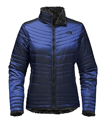 Amazon.com  The North Face Women s Reversible Mossbud Swirl Jacket  Clothing 3283672f0