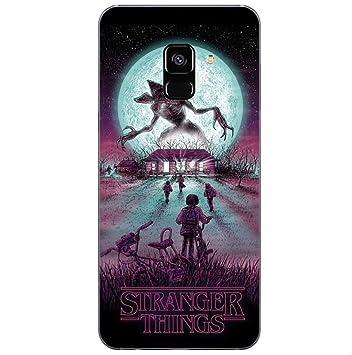Todo Fundas para Samsung Galaxy Stranger Things Serie TV Netflix Eleven Lucas Mike Dustin Demogorgon Dibujos Carcasa Niños Gel (Samsung Galaxy S8 ...