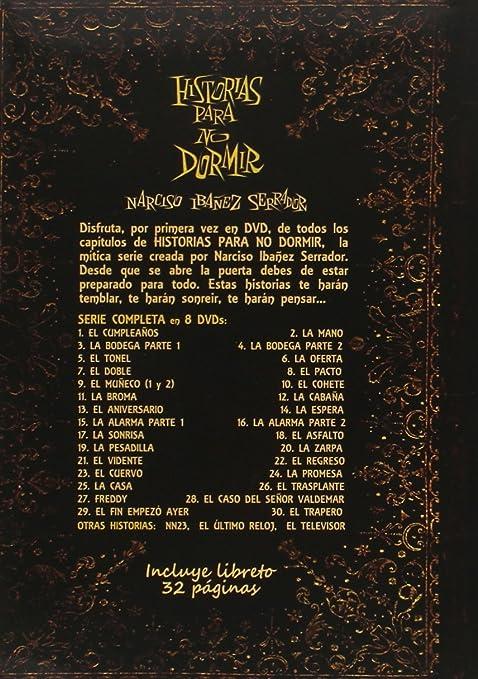 Historias para no dormir - Pack Completo 8 DVD: Amazon.es: Narciso Ibañez Menta, Jose María Caffarel, Concha Cuetos, Manuel Galiana, Gemma Cuervo, Carlos Larrañaga, Narciso Ibañez Serrador, Narciso Ibañez Menta, Jose María