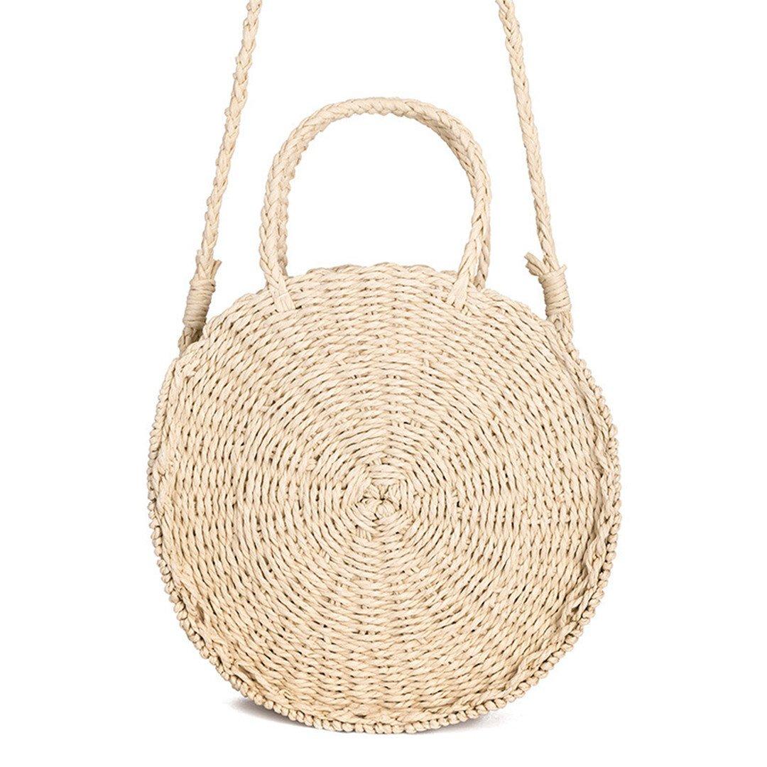 74ed41c9ffc0 Amazon.com: Women Straw Handbag Fashion Female Crossbody Bags For L ...