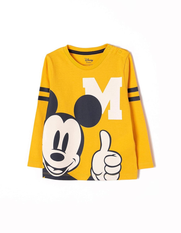 ZIPPY Camiseta de Manga Larga Mickey Beb/és