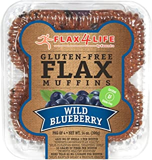 product image for FLAX4LIFE Muffins, Wild Blueberry, 14 Ounce (Pack of 6)